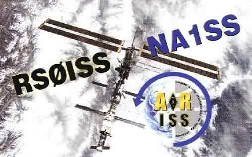 International Space Station QSL card