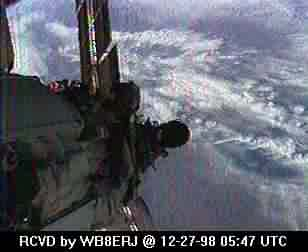 SSTV from the MIR Space Station #2