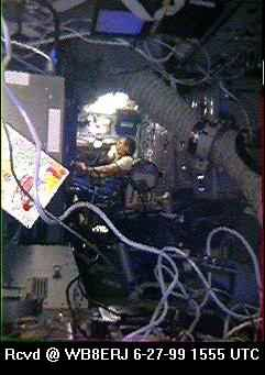 SSTV from the MIR Space Station #9