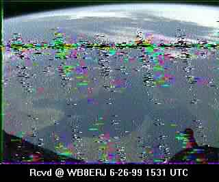 SSTV from the MIR Space Station #10