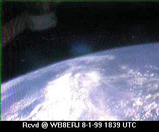 SSTV from the MIR Space Station #12
