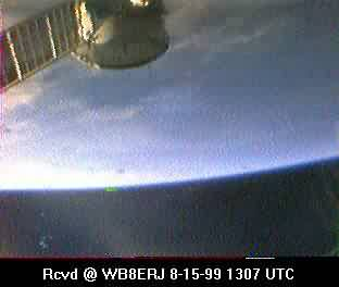SSTV from the MIR Space Station #15