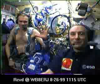 SSTV from the MIR Space Station #16