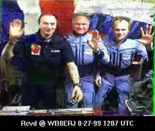 SSTV from the MIR Space Station #17
